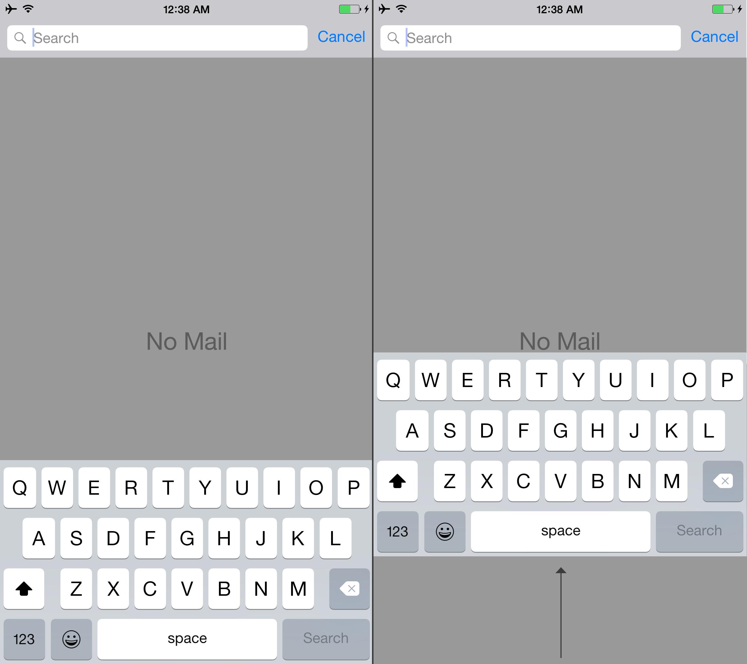 how to get a split screen on mac using keys
